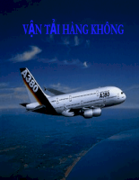 Slide bài giảng môn vận tải quốc tế - Chương vận tải hàng không