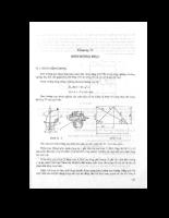 Giáo trình thủy lực cấp thoát nước - Chương 11