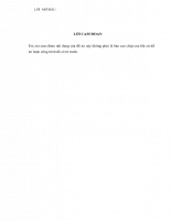 ước lượng kênh truyền thông hệ thống OFDM