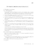Sổ tay hàng hải - Tập 2 - Chương 31