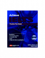 Achieve IELTS  Practice  Book