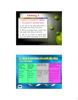 Tài liệu marketing căn bản - chương3