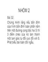 Hình học xạ ảnh 32
