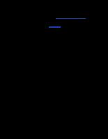 Biểu mẫu quy trình bổ nhiệm lãnh đạo cấp vụ