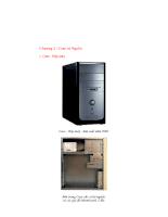 Tổng quan về máy vi tính - Chương 2