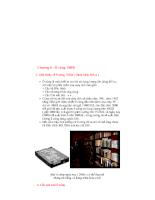 Tổng quan về máy vi tính - Chương 6