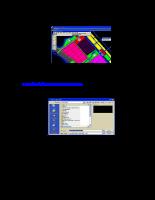 Phương pháp chuyển đổi dữ liệu giữa các phần mềm MicroStation, MapInfo, ArcView, Cad