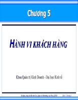 Bài giảng quan tri marketing 06