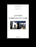 giáo trình marketing kỷ nghệ