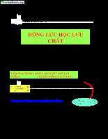 Giáo trình cơ lưu chất - P4