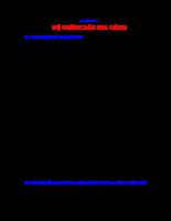 Giáo Trình Công Nghệ Chế Tạo Máy - Chương 3