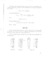 Bài tập lớn sức bền vật liệu - học kì 1