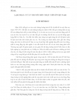 Lạm phát- từ lý thuyết đến thực tiễn ở việt nam.doc