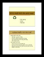 Chất thải rắn - solid waste - P5