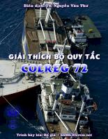 Giải thích bộ quy tắc COLREG 72