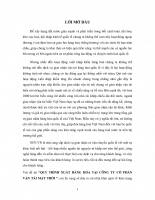 Quy trình xuất hàng hóa tại công ty cổ phần vận tải mặt trời 2011.doc