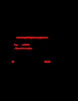 Chi tiết máy - Tính toán thiết kế bộ truyền trục vít