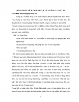 Phân tích chiến lược của công ty may 10.doc