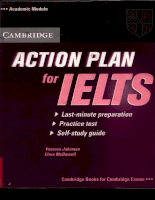 Cambridge Action Plan for IELTS