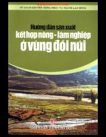 Hướng dẫn sản xuất lâm nghiệp ở vùng đồi núi