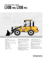 Catalogue máy xúc lật hãng VOLVO - P1