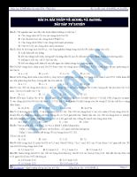 Bài 24: Bài toán về Al(OH)3 và Zn(OH)2