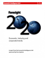 Foresight 2020 Economic, industry and corporate trends