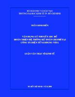 Vận dụng lý thuyết ABC để hoàn thiện hệ thống kế toán chi phí tại công ty điện tử SAMSUNG VINA.pdf