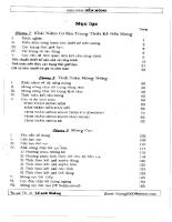 Giáo trình nền móng - Lê Anh Hoàng