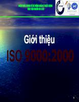 Giới thiệu ISO 9000:2000 về hệ thống quản lý chất lượng