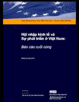 Hội nhập kinh tế và Sự phát triển ở Việt Nam.pdf