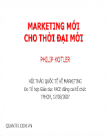 marketing mới cho thời đại mới