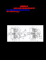 Chẩn đoán trạng thái kỹ thuật ô tô - Chương 10
