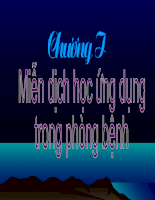 Giáo trình bệnh truyền nhiễm - Chương 7