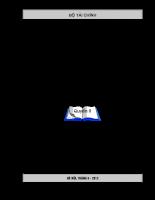 Ôn tập thi kiểm toán, kế toán viên - Q2 - Chuyên đề 5