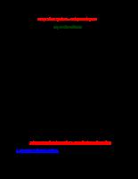 Xây dựng đường biên hiệu quả Markowitz trong trường hợp có bán khống và không có bán khống.doc