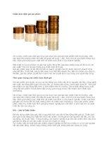 Chiến lược định giá sản phẩm