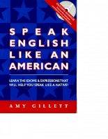 Speak English IN AMERICAN ACCENT