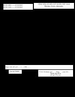 Bảng kê hồ sơ Di chuyển nơi hưởng lương hưu - trợ cấp bảo hiểm xã hội 609-610