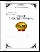 Haccp và thực trang áp dụng.doc