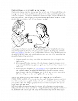 Flashcard blueup – A bit of English on your journey!