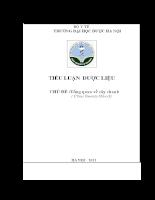 Tổng quan tài liệu về cây Chanh - Citrus limonia Osbeck