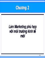Bài giảng quan tri marketing 02