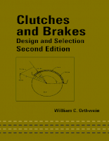 Tài liệu CLUTCHES AND BRAKES Design and Selection