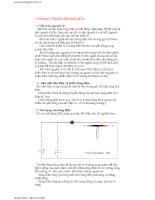 Điện tử cơ bản và tổng hợp các mạch điện cơ bản nhất - Chương 1,2