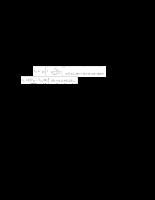 Mạch điện tử - chương 3 - Mạch phân cực và khuếch đại tín hiệu nhỏ dùng FET
