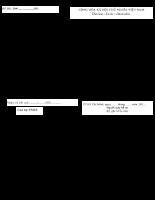 Bảng kê hồ sơ điều chỉnh thân nhân người tham gia bảo hiểm xã hội (của cá nhân) 304
