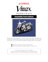 Nghệ Thuật Gấp Giấy_ Gấp 1 CHIẾC XE MÁY VMAX PAPER CRAFT_ YAMAHA - P1