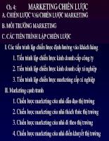Marketing chiến lược slide