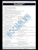 Tài liệu ôn tập 3: andehit-xeton
